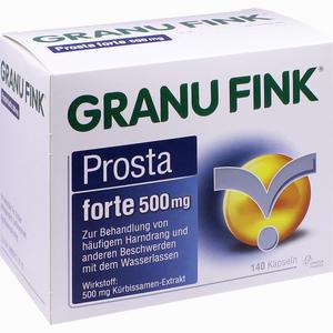 Abbildung von Granu Fink Prosta Forte 500mg Hartkapseln 140 Stück