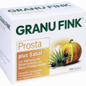 Abbildung von Granu Fink Prosta Plus Sabal Kapseln 120 Stück
