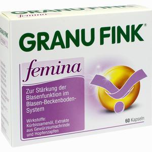 Abbildung von Granufink Femina Kapseln 60 Stück