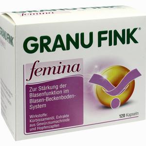 Abbildung von Granufink Femina Kapseln  120 Stück