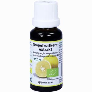Abbildung von Grapefruitkernextrakt- Bio Lösung 20 ml