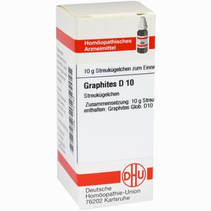 Abbildung von Graphites D10 Globuli Dhu-arzneimittel 10 g