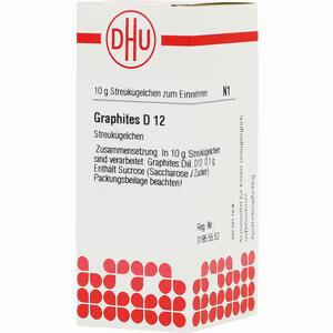 Abbildung von Graphites D12 Globuli 10 g