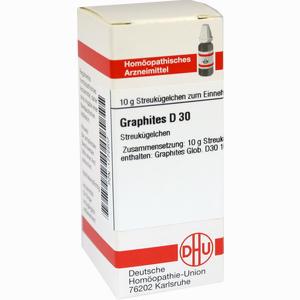 Abbildung von Graphites D30 Globuli Dhu-arzneimittel 10 g