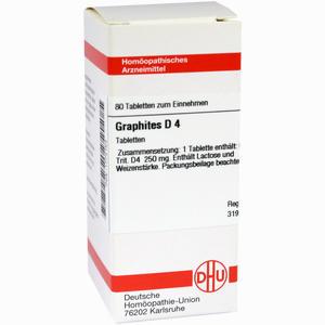 Abbildung von Graphites D4 Tabletten 80 Stück