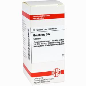 Abbildung von Graphites D6 Tabletten 80 Stück