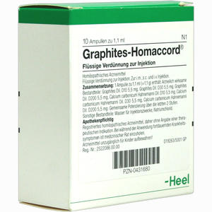 Abbildung von Graphites Homaccord Ampullen 10 Stück