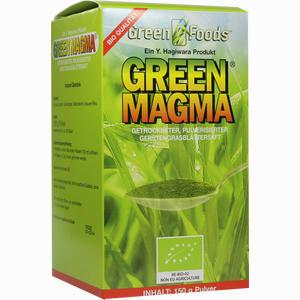 Abbildung von Green Magma Gerstengrasextrakt Pulver 150 g