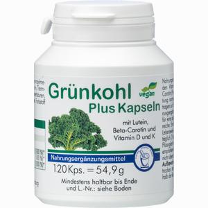 Abbildung von Grünkohl Plus Kapseln  120 Stück