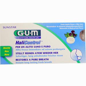Abbildung von Gum Halicontrol Lutschtabletten  10 Stück