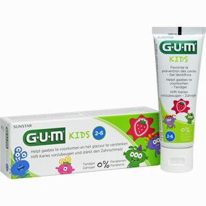 Abbildung von Gum Kids Zahngel Erdbeere 2- 6 Jahre  50 ml