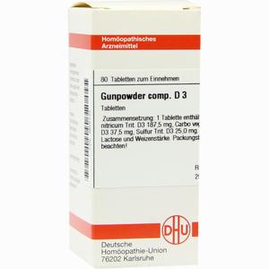 Abbildung von Gunpowder Comp. D3 Tabletten 80 Stück