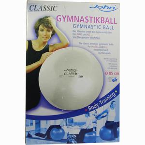 Abbildung von Gymnastikball 85cm Silber 1 Stück