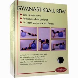 Abbildung von Gymnastikball Rehaforum 55cm Orange- Metallic 1 Stück