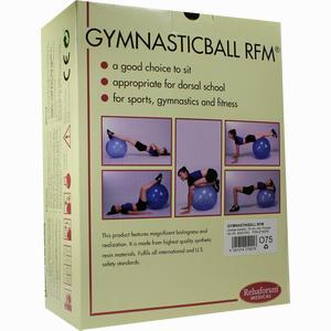 Abbildung von Gymnastikball Rehaforum 75cm Orange- Metallic 1 Stück