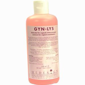 Abbildung von Gyn Lys Gleitm Vag Untersu 250 ml