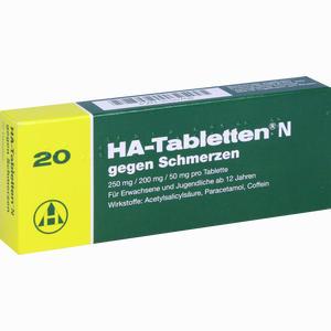 Abbildung von Ha Tabletten N  20 Stück