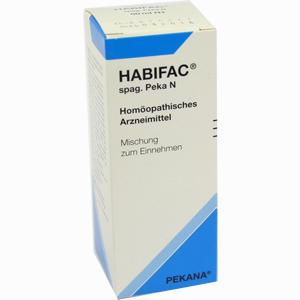 Abbildung von Habifac Spag. Peka N Tropfen 50 ml