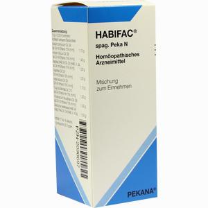 Abbildung von Habifac Spag. Peka N Tropfen 100 ml
