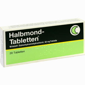 Abbildung von Halbmond Tabletten 20 Stück