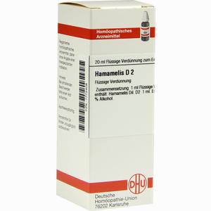 Abbildung von Hamamelis D2 Dilution 20 ml