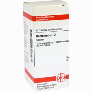 Abbildung von Hamamelis D2 Tabletten 80 Stück