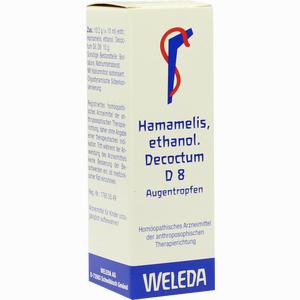 Abbildung von Hamamelis Ethanolisches Decoctum D8 Augentropfen 10 ml