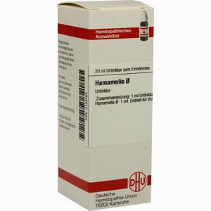 Abbildung von Hamamelis Urtinktur Dilution 20 ml
