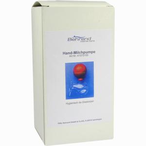 Abbildung von Hand- Milchpumpe mit Aufbehälter 1 Stück