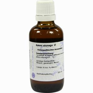 Abbildung von Hanosan Ammi Visnaga Urtinktur D1 Dilution 50 ml