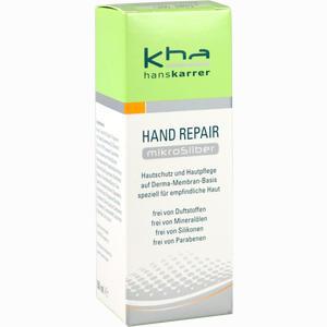 Abbildung von Hans Karrer Hand Repair Mikrosilber Creme 50 ml
