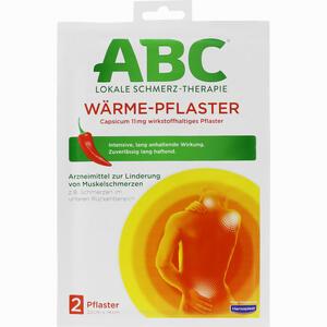 Abbildung von Hansaplast Med Abc Wärme- Pflaster 2 Stück