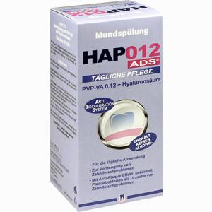 Abbildung von Hap012 Ads Mundspülung Pvp- Va 0.12 + Hyaluronsäure Spüllösung 200 ml