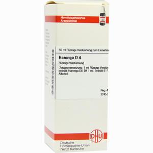 Abbildung von Haronga D4 Dilution 50 ml
