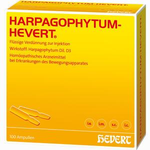 Abbildung von Harpagophytum Hevert Ampullen 100 Stück