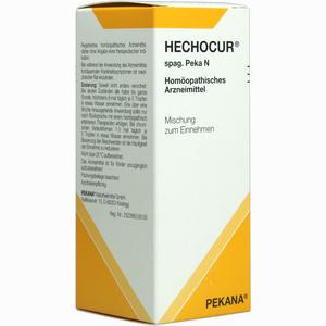 Abbildung von Hechocur Spag. Peka N Tropfen 100 ml