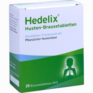 Abbildung von Hedelix Husten- Brausetabletten  20 Stück