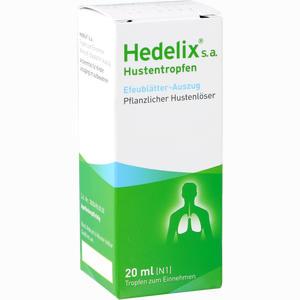 Abbildung von Hedelix S A Tropfen 20 ml