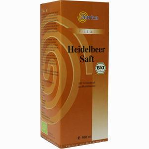 Abbildung von Heidelbeer 100% Direktsaft Bio  500 ml