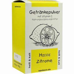Abbildung von Heisse Zitrone Getränkepulver mit Vitamin C  10 x 10 g