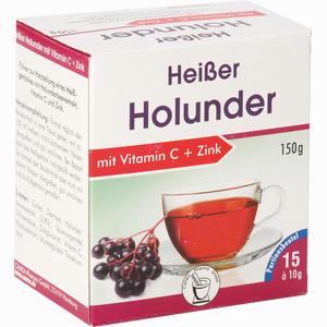 Abbildung von Heisser Holunder+vit.c+zink Pulver 15 x 10 g