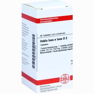 Abbildung von Hekla Lava E Lava D3 Tabletten  80 Stück