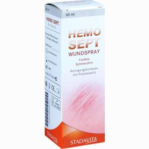 Abbildung von Hemo Sept Wundspray  50 ml