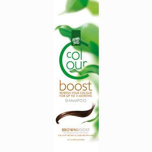 Abbildung von Hennaplus Colour Boost Brown Shampoo 200 ml