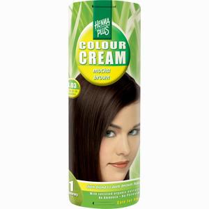 Abbildung von Hennaplus Colour Cream Mocha Brown 4.03 Creme 60 ml