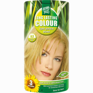 Abbildung von Hennaplus Long Lasting Light Golden Blond 8. 3 100 ml