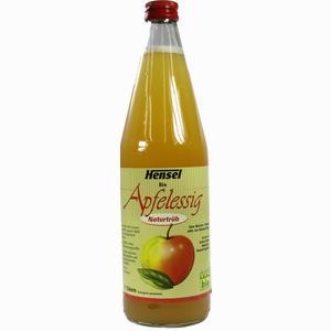 Abbildung von Hensel Apfelessig Naturtrüb Bio Flasche 750 ml