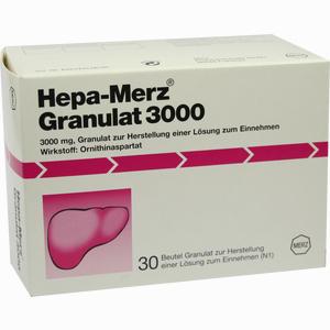 Abbildung von Hepa Merz Granulat 3000  30 Stück