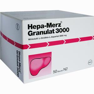 Abbildung von Hepa Merz Granulat 3000 50 Stück