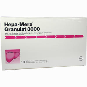 Abbildung von Hepa Merz Granulat 3000 100 Stück